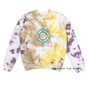 Def Leppard Hysteria Tie Dye Band Sweatshirt